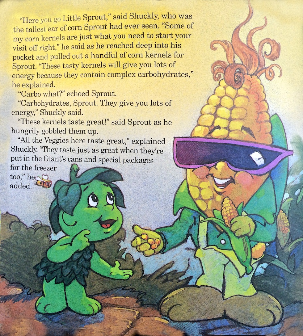 Sprout's Valley Adventure (Pillsbury, 1992)