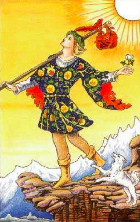 The Fool, Rider Waite Smith Tarot
