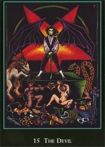 The Devil (World Spirit Tarot)